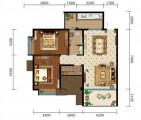2+1房两厅98㎡