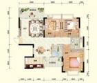 C2户型 三房两厅
