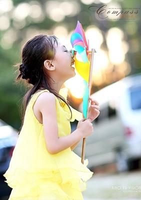 萱萱的夏天---一壹个可爱的小美女