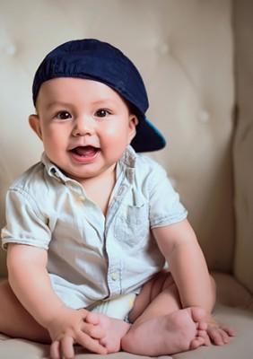 Little little Romeo——柠檬摄影宝宝纪念照