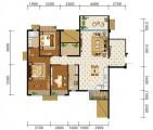 3+2房两厅129㎡