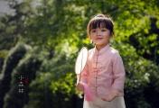 人事去夏来,采花扑蝶——柠檬摄影宝宝照