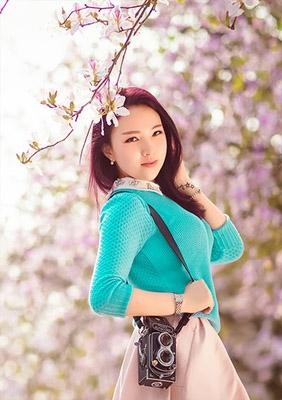 【紫荆花开】----爱琴海婚纱摄影客片欣赏