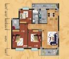 C1户型 3房2厅