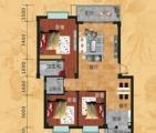 A1户型  3房2厅